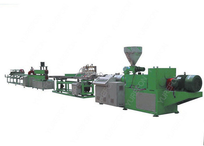 Plastic Ceiling Wall Panel PVC Profile Extrusion Line With Stable PLC Control System