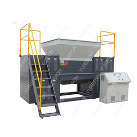 High Torque Used Plastic Shredder Machine, Double Shaft Plastic Scrap Grinder Machine
